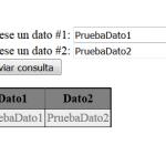 Ejemplo PHP: Formulario para generar y mostrar un JSON